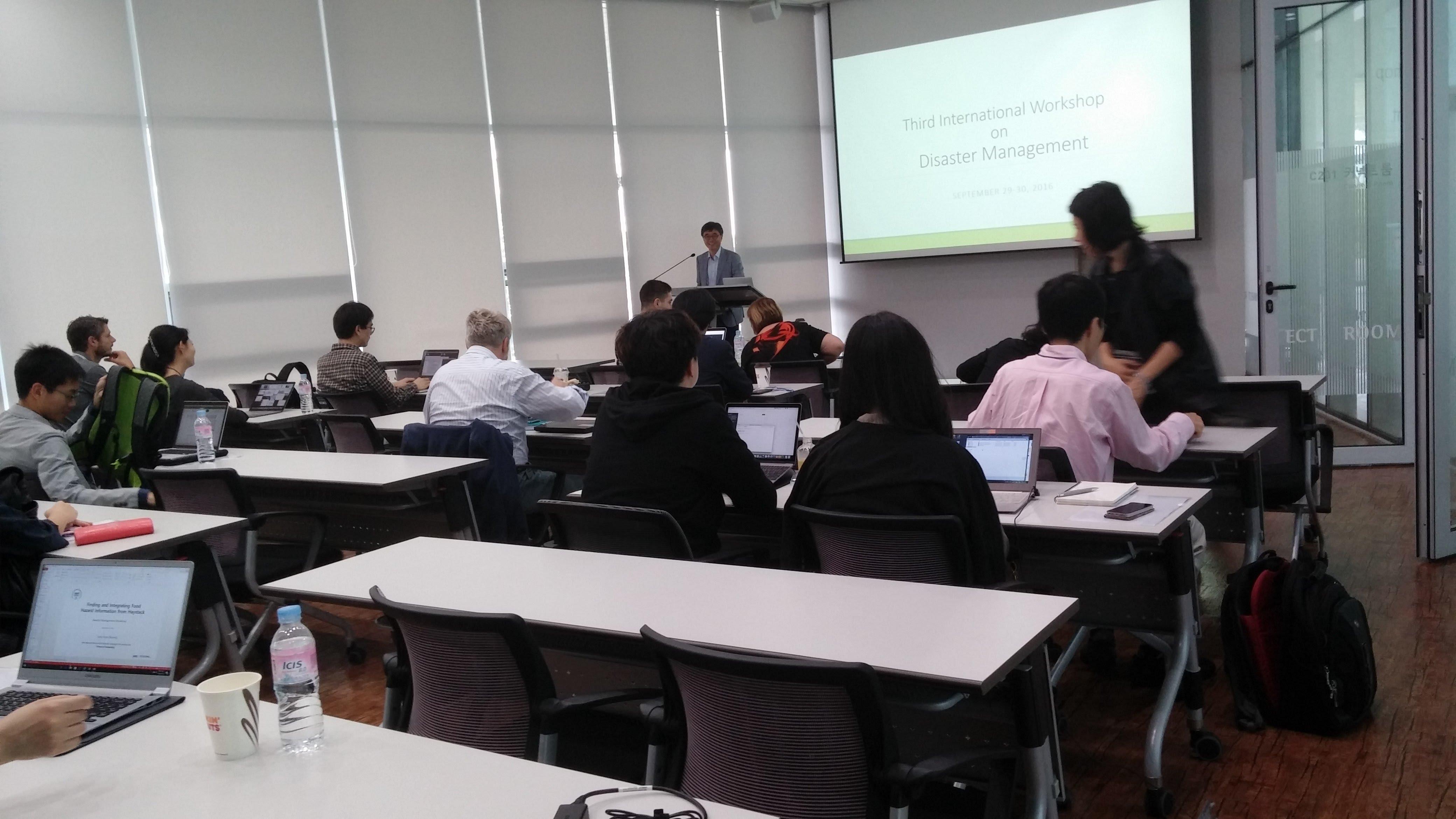 Talk by prof myaeng